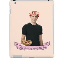 The Pie Maker iPad Case/Skin