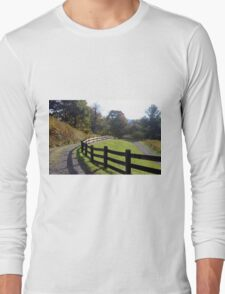 Country fence Long Sleeve T-Shirt