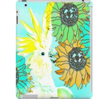 7 DAYS OF SUMMER /SUMMER COLLECTION-TEAL BLUE COCKATOO iPad Case/Skin