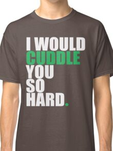 cuddle (wht/grn) Classic T-Shirt