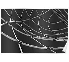 Wire Abstract Poster
