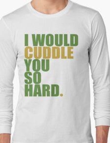 cuddle (must/grn) Long Sleeve T-Shirt