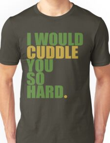 cuddle (must/grn) Unisex T-Shirt