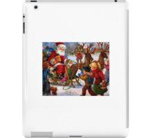 Santa & Sleigh iPad Case/Skin