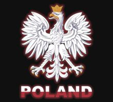 Poland - Polish Coat of Arms - White Eagle Kids Clothes