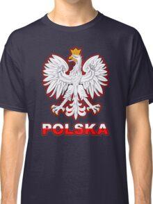 Polska - Polish Coat of Arms - White Eagle Classic T-Shirt