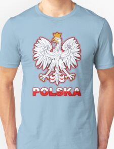 Polska - Polish Coat of Arms - White Eagle T-Shirt