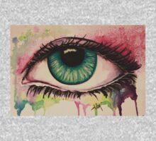 Watercolour Eye Kids Clothes