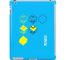 Cubes of the Line iPad Case/Skin