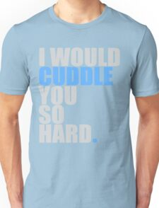 cuddle (blue) Unisex T-Shirt