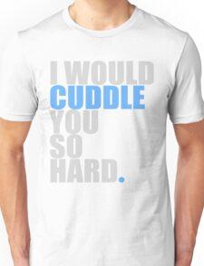 cuddle (blue) Unisex T-Shirt