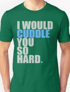 cuddle (blue) T-Shirt