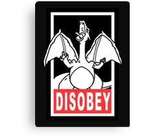 DISOBEY | Charizard Canvas Print