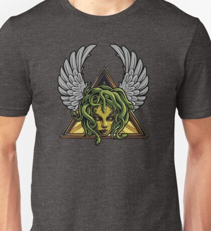 Winged Medusa Unisex T-Shirt