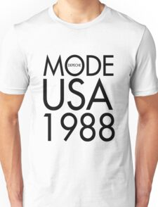 MODE USA '88 - Tour T-Shirt Replica Unisex T-Shirt