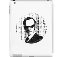 Agent Smith - The Matrix iPad Case/Skin