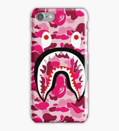 BAPE SHARK PINK CAMO iPhone Case/Skin
