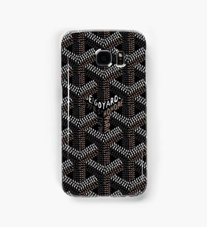 Goyard Black Samsung Galaxy Case/Skin