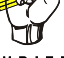 WRITE ON! - For The Radical Writer Sticker