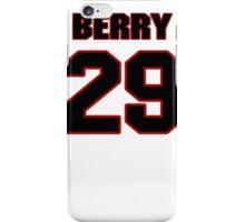 NFL Player Eric Berry twentynine 29 iPhone Case/Skin