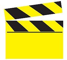 Blank FILM movie board Photographic Print