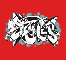 DZYNES Graffiti Cat n Bubbles Kids Clothes