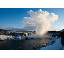Niagara Falls Makes Its Own Weather Photographic Print