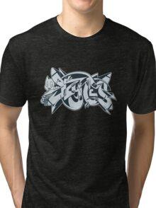 DZYNES Graffiti Cat Tri-blend T-Shirt