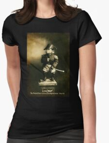Little Nap The Napoleon of the Chimpanzee World! Womens Fitted T-Shirt