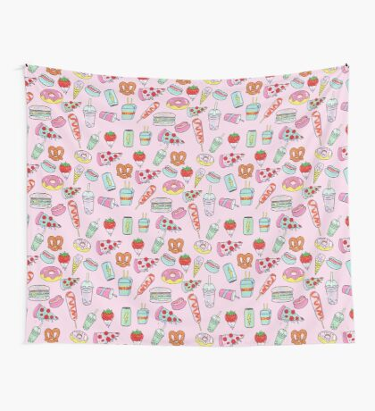 Dreaming Of Junk Food Wall Tapestry