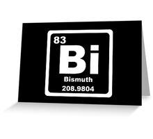 Bi - Periodic Table Greeting Card
