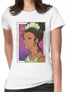 Bayou Princess  Womens Fitted T-Shirt