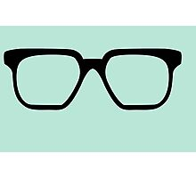 Bunny spectacles Photographic Print