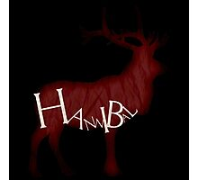 Bloody Stag Photographic Print