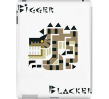 Brute Tigrex- Bigger, Blacker iPad Case/Skin