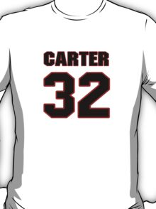 NFL Player Tony Carter thirtytwo 32 T-Shirt