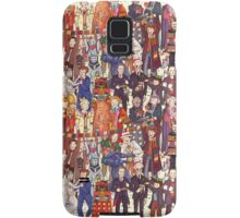 The party doesn't start until the Doctor walks in...twelve times Samsung Galaxy Case/Skin