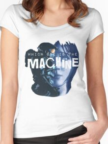 Machines Women's Fitted Scoop T-Shirt
