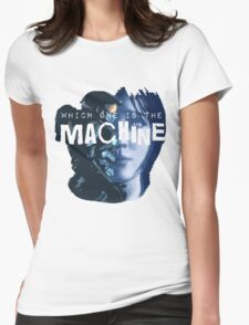 Machines Womens Fitted T-Shirt