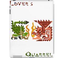 Monster Hunter- Lover's Quarrel iPad Case/Skin