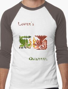 Monster Hunter- Lover's Quarrel Men's Baseball ¾ T-Shirt