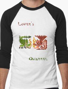 Monster Hunter- Lover's Quarrel Men's Baseball ¾ T-Shirt