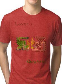 Monster Hunter- Lover's Quarrel Tri-blend T-Shirt