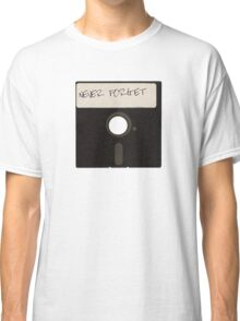 Never Forget Computer Floppy Disks Classic T-Shirt