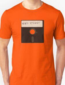 Never Forget Computer Floppy Disks T-Shirt