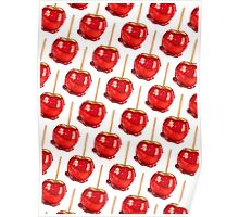 Candy Apple Pattern Poster