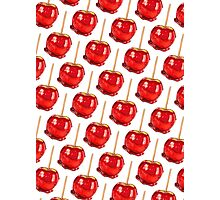 Candy Apple Pattern Photographic Print