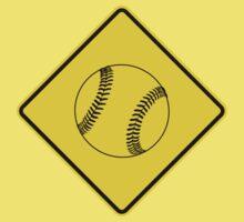 Baseball or Softball - Traffic Sign - Diamond Kids Clothes