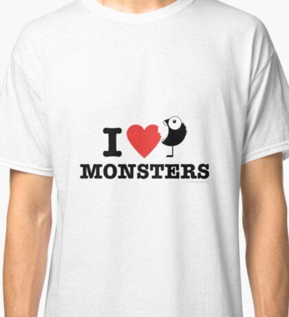 I love monsters Classic T-Shirt