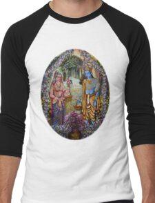 Sita Ram Men's Baseball ¾ T-Shirt